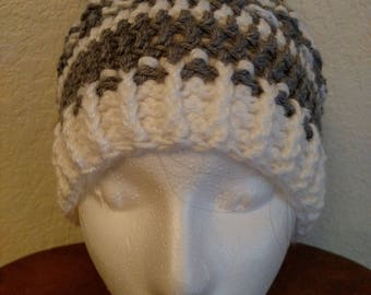 Crocheted Messy Bun Hat