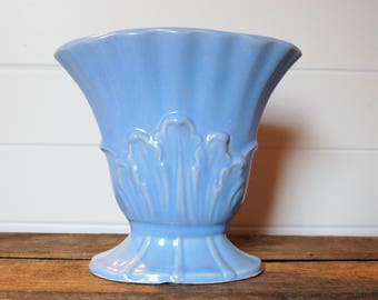 Vintage Light Blue Vase