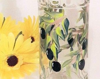 Save Today On Hand Painted Olive Oil Bottle