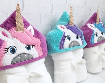 Unicorn Party Favors - Unicorn Gift - Unicorn Baby Gift - Towel - Unicorn - Unicorn Birthday Party - Unicorn Birthday - Unicorn Baby Shower