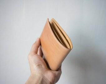 Cordovan  Bifold leather wallet, handmade wallet