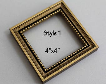 photo frame picture frame square frame mini frame 3x3 3x4 - Mini Frame