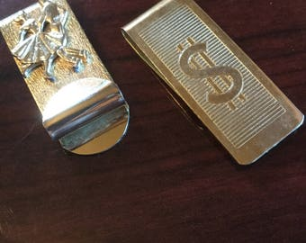 Vintage money clips