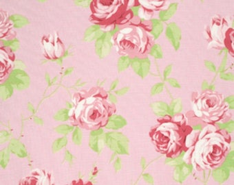 Tanya Whelan Fabric, Lulu Roses, Lulu PInk - FAT QUARTER