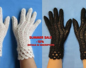 Women's lace gloves,knitted gloves,warm gloves,crochet gloves,handmade gloves,trandy gloves,downy gloves,wool gloves,gloves with cuffs