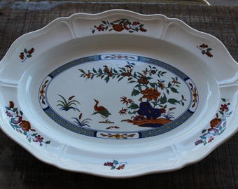 Vintage - WEDGWOOD - Chinese Teal - Serving Platter - 15 Inches
