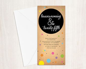 Birthday, Housewarming, Special occasion Invitation