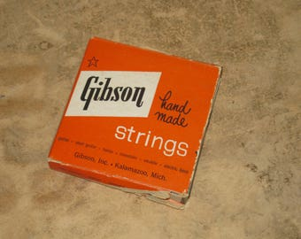 Vintage Gibson Strings Ukulele Strings