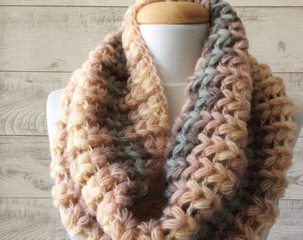 Knit cowl knit scarf women scarf handmade knitted scarf cowl  / Many Colors / FAST DELIVERY