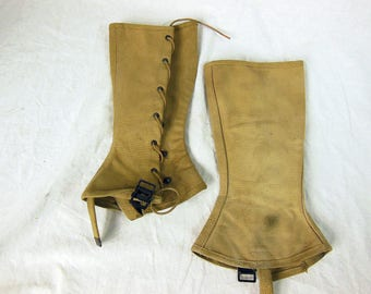 Spats WW2 U. S. Army Combat Gear, Vintage
