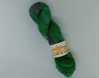 Serpent of Slytherin - Harry Potter Inspired Sock Yarn