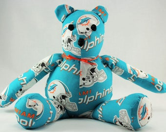 NFL Bear: Miami Dolphins, Baltimore Ravens, Chicago Bears, Dallas Cowboys, Steelers, Tampa Bay Bucs, Jaguars, New England Patriots, Eagles