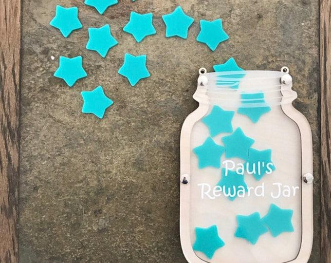 Children's personalised reward jar