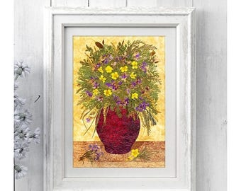 50% OFF SALE Dried flowers, Dried flower print, Botanical print, Flower photography, Home decor, Botanical art, Photography Wall art Fine ar