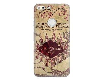 Google Pixel 2 Case Marauders Map Google Pixel 2 XL Case Marauders Harry Potter Phone Case Google Pixel XL Case Harry Potter Google Phone