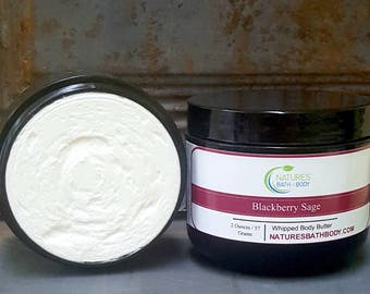 Blackberry Sage Whipped Body Butter