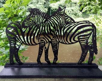 Zebra fretwork