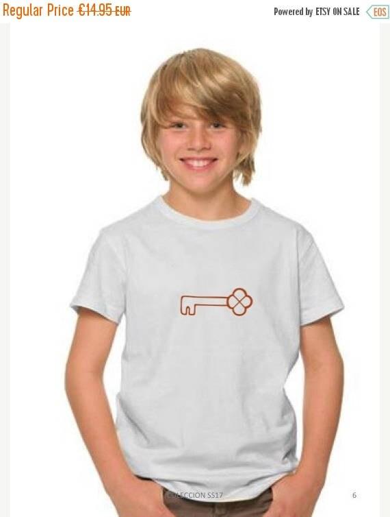 REBAJADO Boy t-shirt KEY in copper