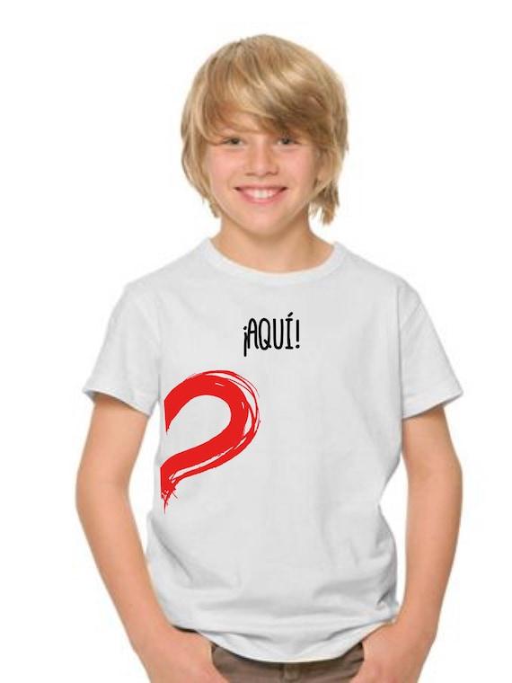 Boy t-shirt ¡AQUI! HALF HEART