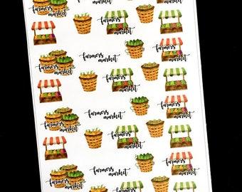Farmers Market Sticker Set - S240
