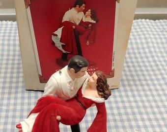 Scarlett O'Hara and Rhett Butler Hallmark Ornament Gone With The Wind