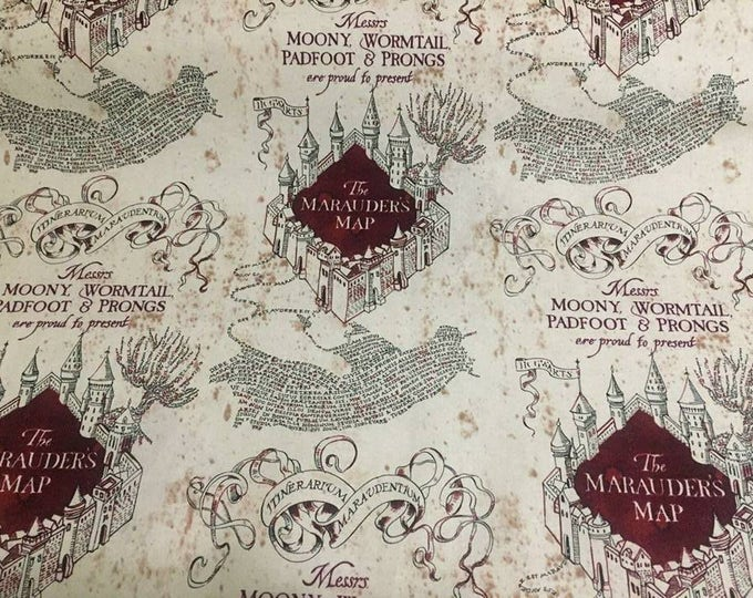 Harry Potter Cotton Fabric by the Yard