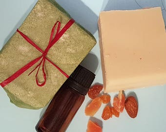 Winter Spices Goat's Milk Soap - SLS | Palm Oil Free - Cruelty Free skincare - Natural Soap Bar - Cold Pressed Soap - Handmade Soap for Men