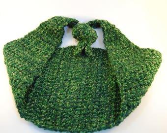 Green Newborn Hammock Photo Prop, Infant Hammock, Green Hammock, Newborn Photography Prop, Spring Photo Prop, Newborn Hammock, Crochet
