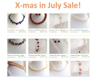 "Use the ""XmasInJuly55"" coupon code to enjoy 55% off your purchases! ~ Be Well and Be Happy!"