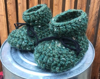ANKLE MINKY ADULT slippers – adult slippers, crochet slippers, mens slippers, ladies slippers, wool slippers unisex, gift for her, valentine
