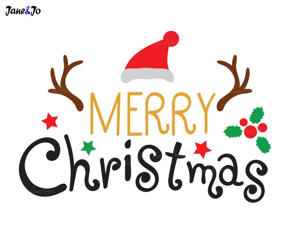 Christmas Quotes And Graphics: Merry Christmas Svg Merry Xmas SvgChristmas Quote