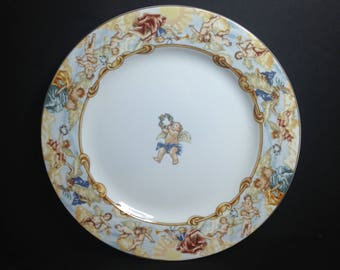 Cherubs by Fitz & Floyd Dinner Plate,Cherubs OMNIBUS by Fitz and Floyd