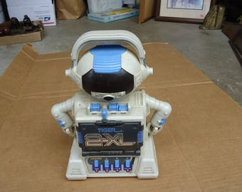 vintage robot toy radio tiger boombox,question answer plastic toy
