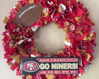 San Francisco 49ers Wreath