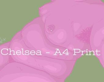 Chelsea - A4 Print