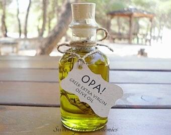 25 pcs Favorite Olive Oil Favors (70ml / 2.4oz), Olive Oil Wedding Favors, Olive Oil Baby Shower Favors, Olive Oil Bridal Shower Favors,