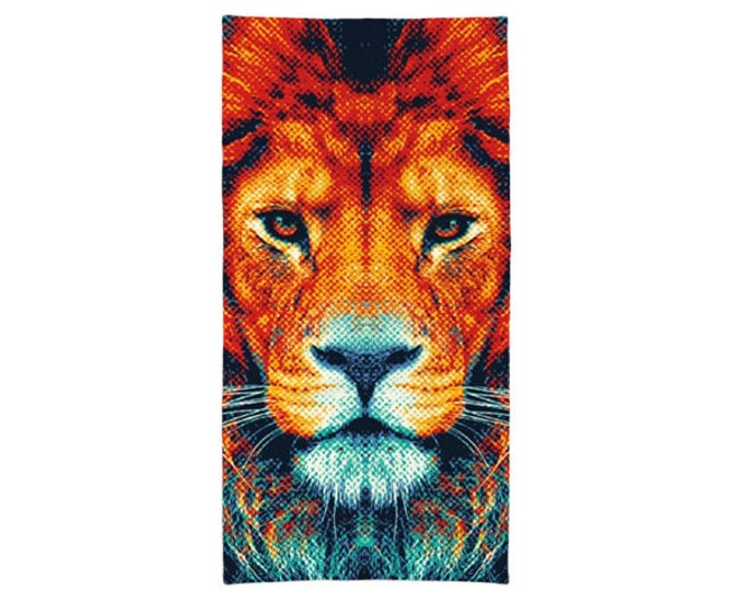 Lion Towel - Colorful Animals
