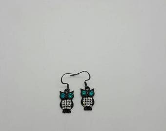 Owl earrings  (ER095)