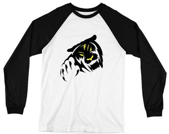 Delaba Graphic Long Sleeve Baseball T-Shirt