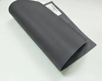 """Leather Scrap, Genuine Leather, Leather Pieces, Grey, Size 8.25"""" by 11.5""""  Leather Scrap for DIY Projects."""