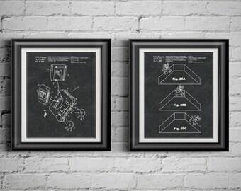 Nintendo Wall Art nintendo patent | etsy
