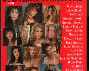 Mature Vintage Playboy Special Edition Mens Girlie Pinup Magazine : Playboy's Twenty-One Playmates Centerfold Collection 1996