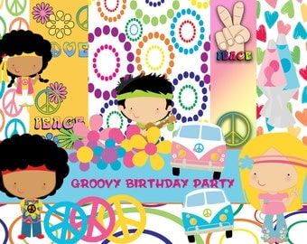GROOVY BIRTHDAY PARTY
