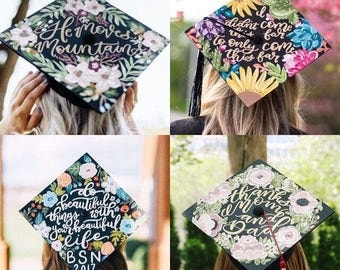 Custom Graduation Cap // Read item details for info
