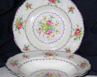 Royal Albert - Petit Point - Rim Soup Bowls (2)