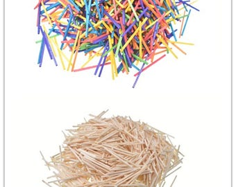 1000 Wooden Matchsticks for Modelling and Craft(CTJZ21-MatchS-)