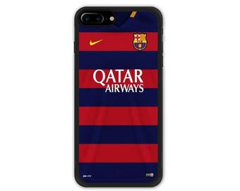 FC Barcelona iPhone 7 Case / iPhone 7 Plus Case , iPhone 8 / iPhone 8 Plus Case , iPhone X Case MSN Messi Suarez Neymar