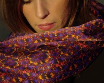 Silk scarf Hespéride