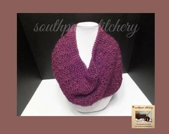 Easy CROCHET PATTERN, Scarf Pattern, Scarf Pattern, One Pattern Many Looks, Maria Infinity Scarf, Instant Download PDF English Only