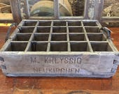 Vintage German Beer Crate...